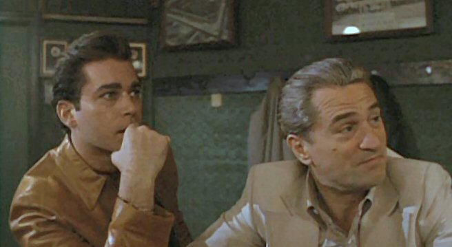 Good Fellas-Liotta de Niro