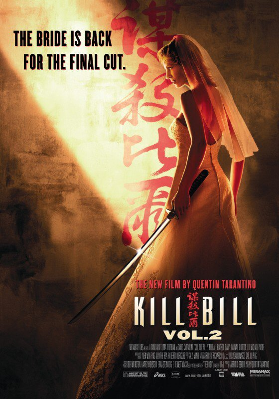 Kill Bill II-Filmplakat