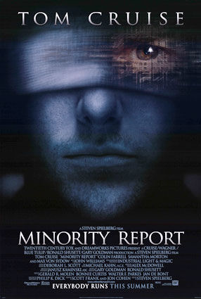 Minority Report-Plakat